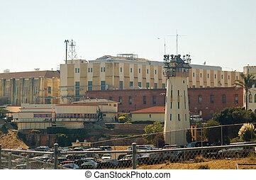 San Quentin State Prison in California, home of California's...