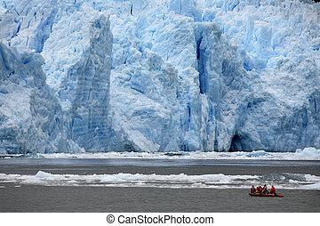 San Rafael Glacier - Patagonia - Chile - Adventure Tourism....
