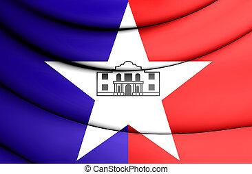san, (texas), usa., 旗, antonio