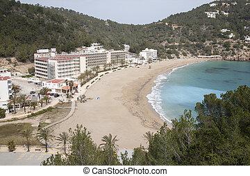 San Vicente Beach, Ibiza, Balearic Islands, Spain