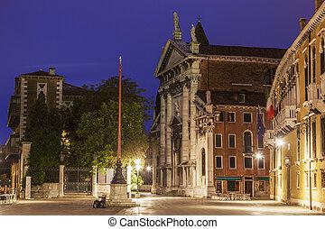 San Vidal Church in Venice. Venice, Veneto, Italy.