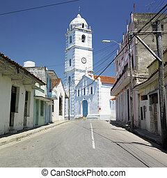Sancti Spiritus, Cuba - Iglesia Parroquial Mayor del...