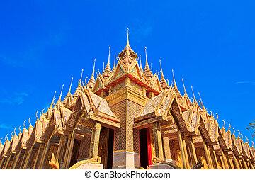 Sanctuary Church in temple thailand
