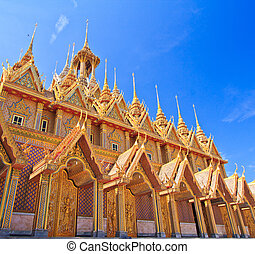 Sanctuary Church in temple thailand