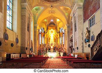 Sanctuary Church, where faith and religious rituals.