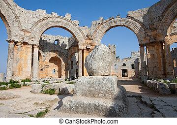 Sanctuary of San Simeon Estilita, Syria
