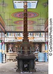 sanctum, interno, temple., open-sided, salone,...