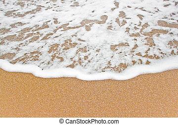 sand., θάλασσα , κύμα