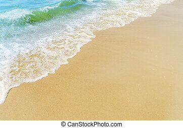 sand and water on the beach as good background
