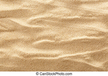 Sand as background - Wavy sample of beach sand as background