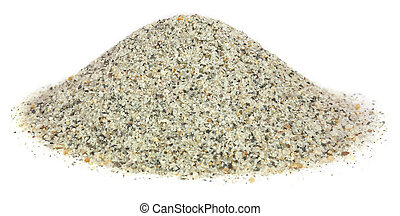 Sand as building material