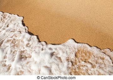 Sand Beach and Summer Sea