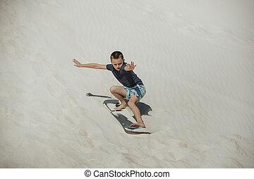 Sand Boarding in Australia