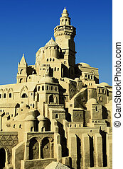 sand castle - castle made of sand