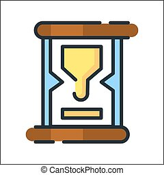 sand clock icon color