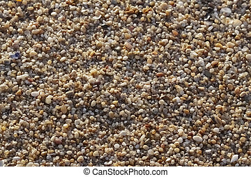 Sand closeup macro - Sand close-up background. Sand from ...