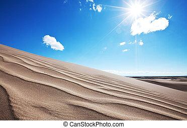 Sand dune - Deserts dune