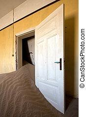 sand dune doorway