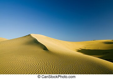 Sand dune in Northern Africa