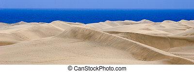 Sand dune panorama 1:3