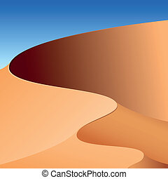 Sand dunes, abstract background