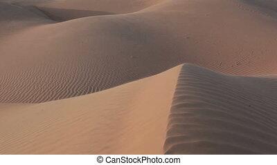 Sand dunes in Oman