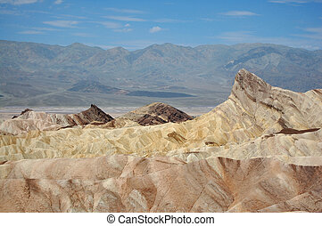 Sand dunes in the Death Valley National Park, California