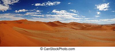 Sand dunes near Swakopmund