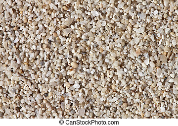 Sand grain close up.