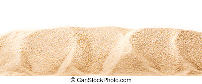 Sand in closeup