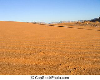 Sand of Wadi Rum Desert, Jordan