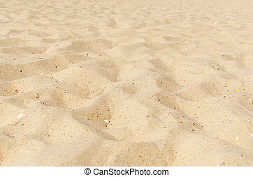 sand on beach as background. soft focus