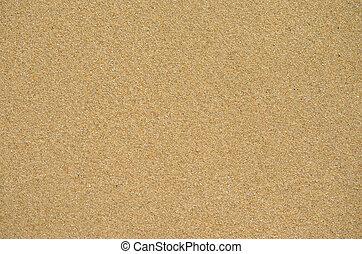 Sand on beach
