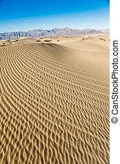 Sand Patterns in Death Valley