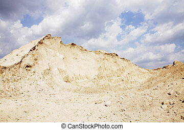 Sand pile
