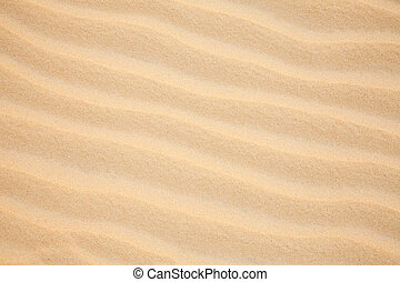 Sand ripples - Sand dune ripples close up