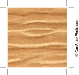 Sand, seamless vector background