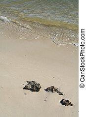 sand, &, steinen