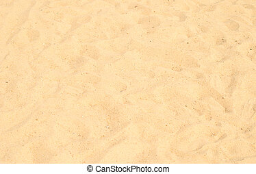 sand - sea sand with footprints