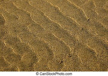 Sand Texture series - Sand texture on golden beach