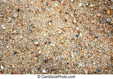 texture of yellow sand can be used as background