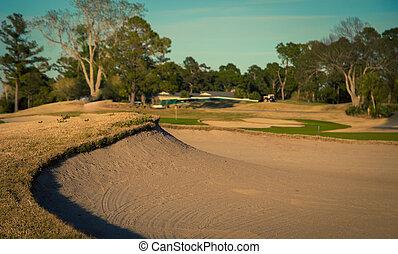 Sand trap in Myrtle Beach
