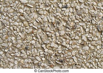 Sand washed finishing background