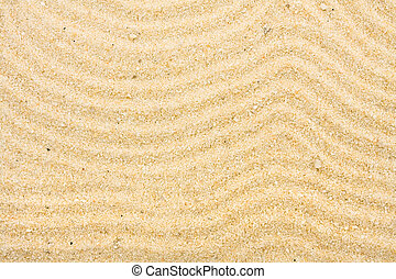 beach background - Sand with many lines drawn in it, beach...