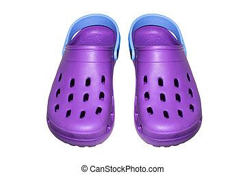 sandals., espuma, polyurethane