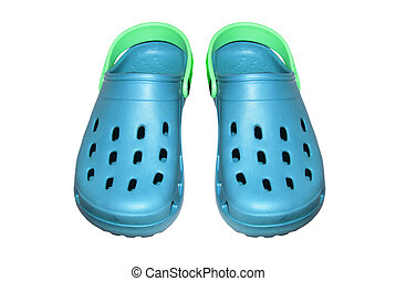 sandals., polyurethane, espuma