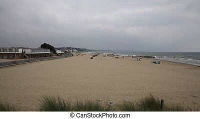 Sandbanks beach Poole Dorset uk - Sandbanks beach Poole...