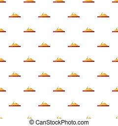 Sandbox pattern, cartoon style - Sandbox pattern. Cartoon...