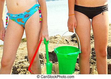 Sandcastle builders