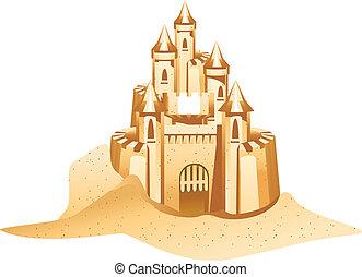 sandcastle, icona